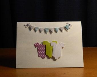 Congrats baby greeting card