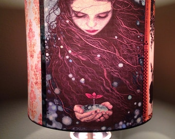 Ethereal Fairy Tale inspired lampshade 'CINDERELLA'