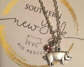 The Chloe - Pig Necklace