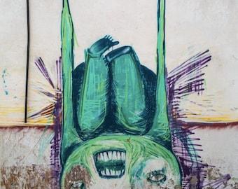Tenerife Photography - Street Art in Spain - Derelict Building - Photography Print
