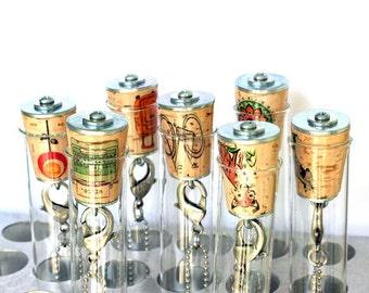Fox Necklace, Fox Jewelry, Wine Cork Jewelry