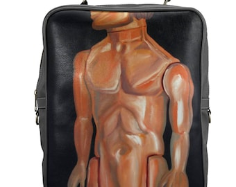 KEN Large Square Backpack