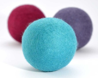 Dried Lavender Stress Ball - Desk accessory Office decor Stress relief office toy Paperweight Aromatherapy wool felt ball Relax Keep Calm