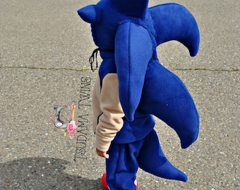 Sonic The Hedgehog costume, Sonic outfit, Toddler Sonic The Hedgehog, Toddler comic costume, Hedgehog Halloween Costume, Sonic Cosplay,