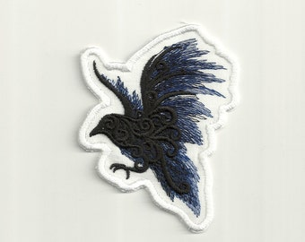 The Raven Patch! Any Color! Custom Made!