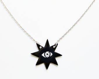 All Seeing Star Necklace