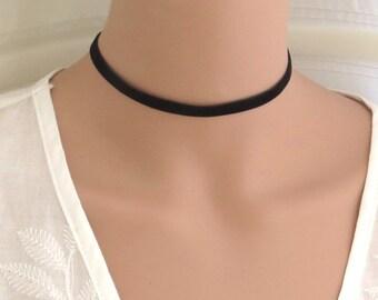 Velvet choker, velvet choker necklace, black choker, pink choker, boho choker, dainty choker, navy choker, purple choker, necklace
