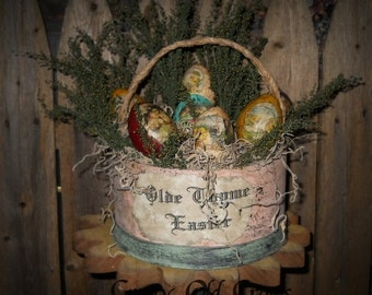 Old Thyme Easter Basket-MADE TO ORDER