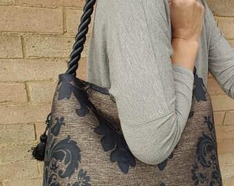 Fern Leaf Handbag