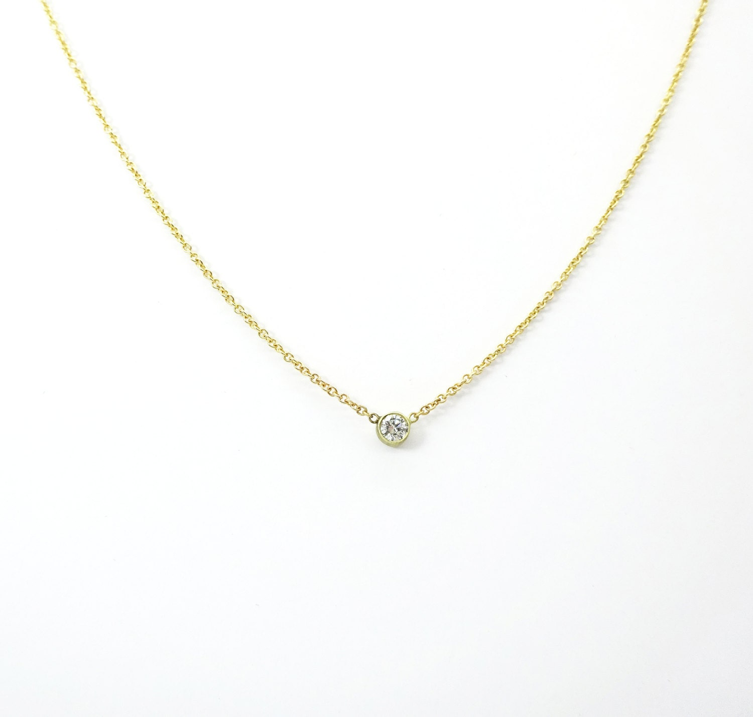 diamond pendant gold