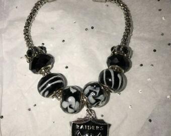 Raiders Team bracelet .
