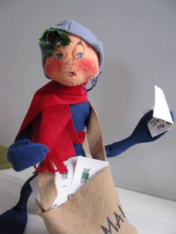 Vintage annalee annalee doll Annalee mailman elf mailman