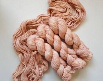 Victoria - Hand Dyed Tonal Yarn, Superwash Merino Nylon 2 Ply twist