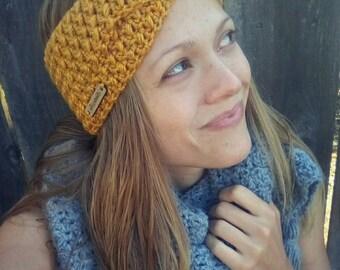 The Lola headwrap, crochet headband