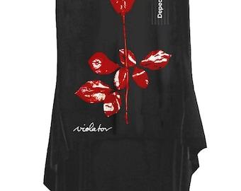 Depeche Mode Violator New Wave Hi Low Hem T-Shirt Sleeveless Tank Top
