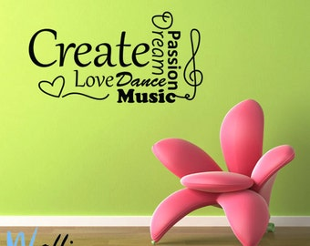 Wall decals –  Create
