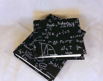 Calculus Physics Math Handmade Book Diary Journal Notebook Sketchbook Mathematics Algebra