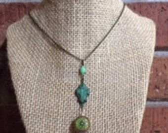 Color Changing Mood Bead Pendant