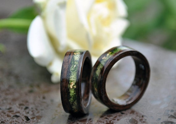 ring wood wood rings for men 5 Year Anniversary Wooden