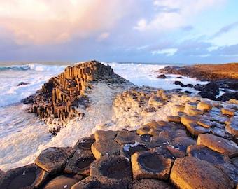 Travel Photography: Giants Causeway, Northern Ireland CANVAS