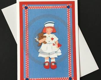 Get Well Card- Nurse