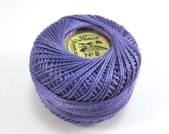 Finca Perle Cotton Thread Pearl Cotton - Medium Lavender