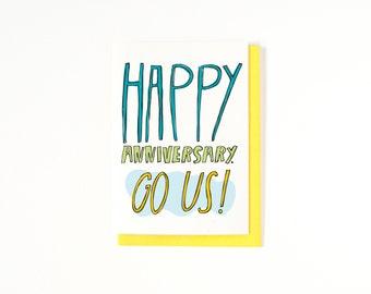 Happy Anniversary Card - I Love You Card - Funny Anniversary Card - Funny Love Card - Love Greeting Card - Funny Card - Anniversaries