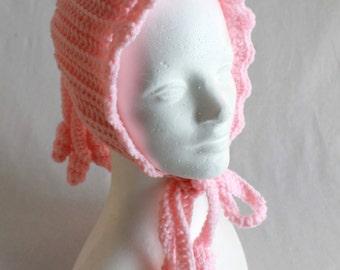 Ponytail Hat Crochet Pattern PDF