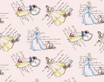 Disney Princess Skirt - Women's Princess Skirt - Women's Flared Skirt - Skirt with Pockets - Elastic Waist Skirt