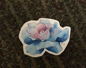 Watercolor Flower Sticker