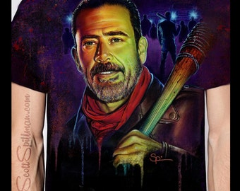 NEGAN Crew Neck Tee ( Please order a size SMALLER than you wear )