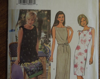 Butterick 3513, sizes 18-22, misses, petite, dress, UNCUT sewing pattern, craft supplies,