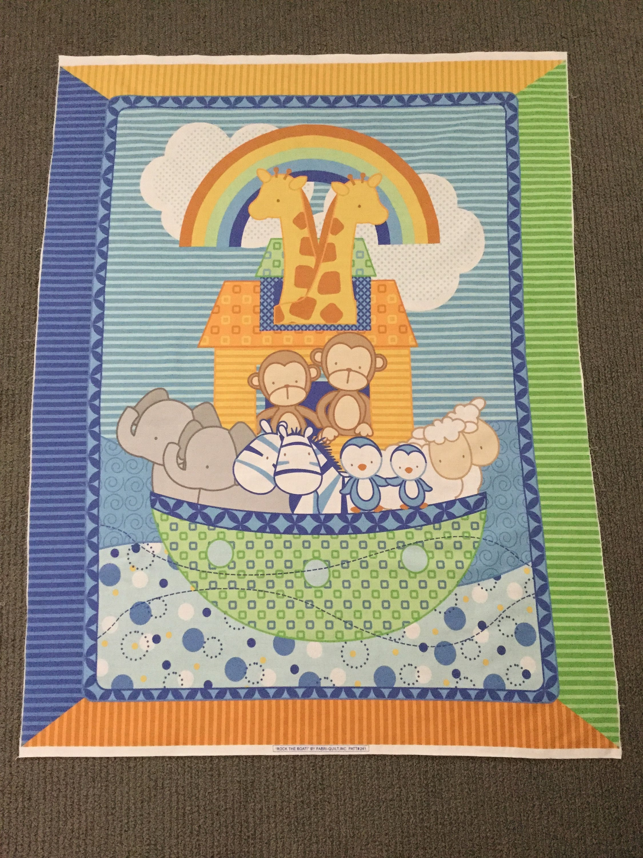 Baby Quilt Fabric Nautical Fabric Juvenile Fabric Quilt