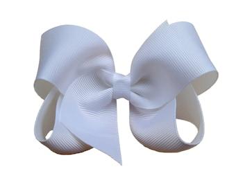 YOU PICK color hair bows - hair bow, girls hair bows, toddler hair bows, baby hair bows, girls bows, baby bows, boutique bows, big hair bows