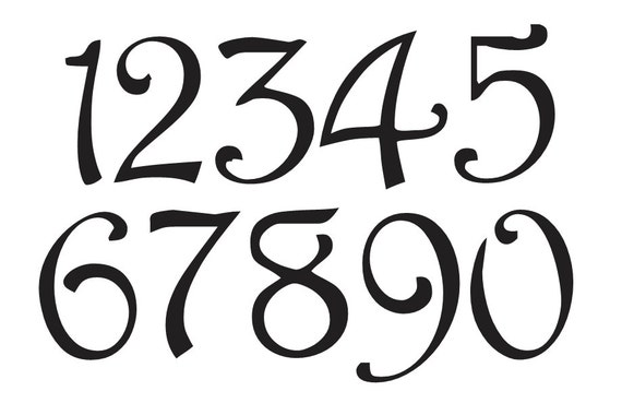 lettering fonts free printable number stencil 4 harrington font numbers 0 9 for 19814 | il 570xN.755428218 midv