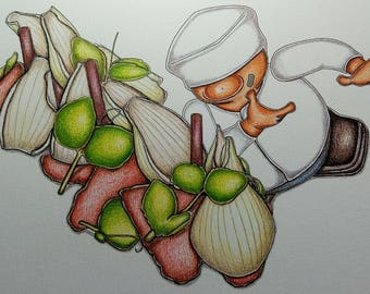 Watermelon and Onions