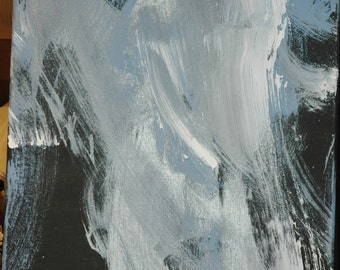 """Painted by a Pony! """"Ghost Horse"""" painting"""