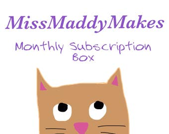 Monthly Subscription Cat Toy and Hat Box