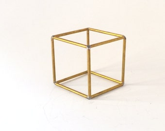 Hexahedron Platonic solids Sacred geometry earth element meditation room altar
