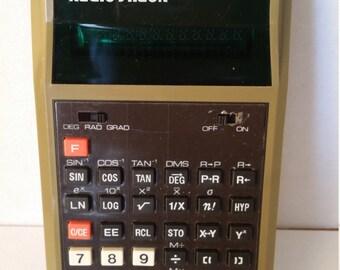 Vintage Radio Shack Calculator EC-495 - 70s Desk Calculator