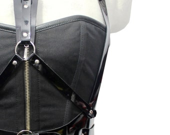 Gothic Corset with Harness
