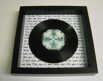 Diana Ross & Lionel Richie - Endless Love - Framed Vinyl Record Gift