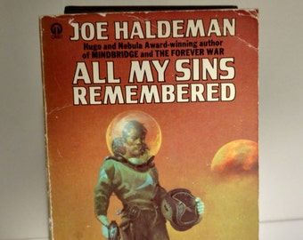 1977 All My Sins Remembered by Joe Haldeman