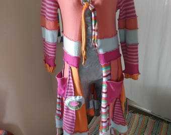 """Recycled Sweater """"Pixie Candy"""""""