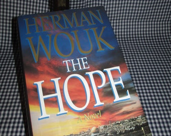 "Herman Wouk ""Hope"", First Hardcover Edition"