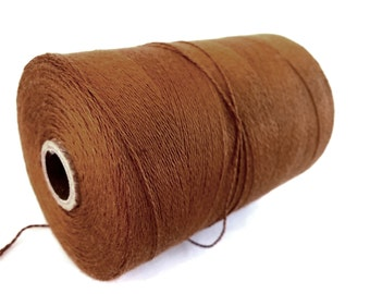 Copper Brown Twine Bamboo Cord 0.7mm - 10 meters / 32.8 ft