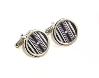 Doppler Effect Science Scientific Maths Mathematics Cufflinks - Great Gift