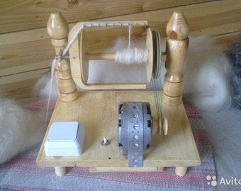 """Electric Spinning Wheel """"Matrena"""""""