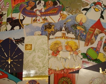 25 Upcycled Christmas Gift Tags