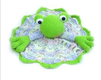 Froggy Blanket Buddy